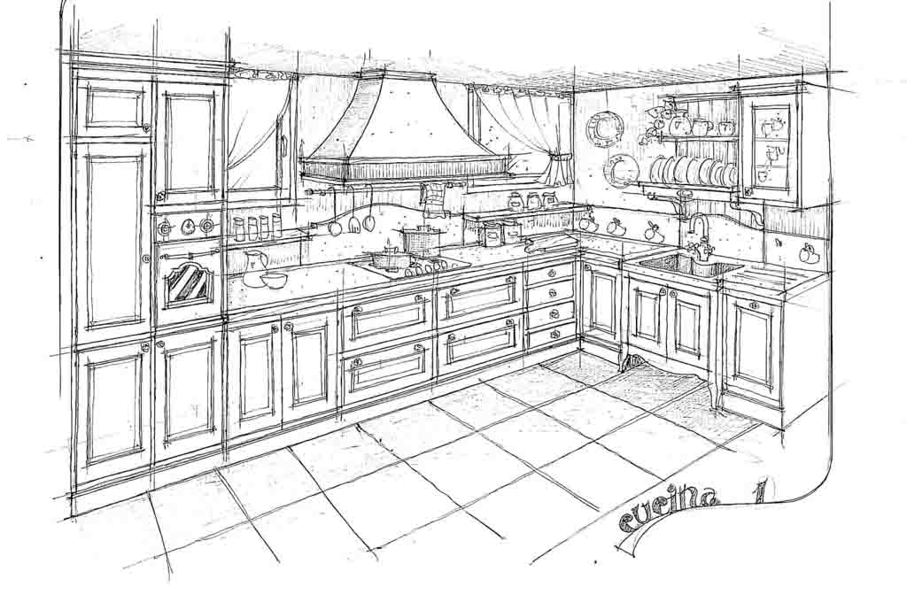 Cucine In Muratura - Disegnare Una Cucina In Muratura - Smepool.com