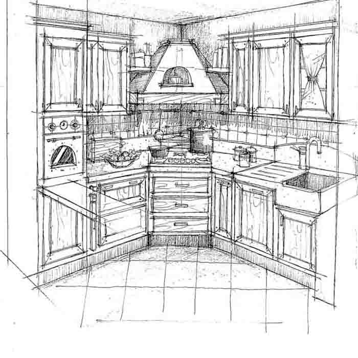 Perfect Disegni Cucine With Disegni Cucina.